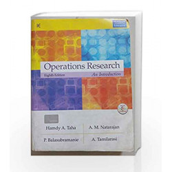 Operations Research by Hamdy A. Taha Book-9788131759165