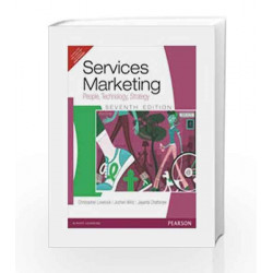 Services Marketing: People, Technology and Strategy 7th Edition by Lovelock / Chatterjee Book-9788131759394