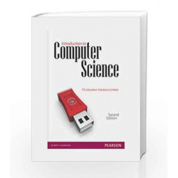 Introduction to Computer Science, 2/Ed by ITL Book-9788131760307