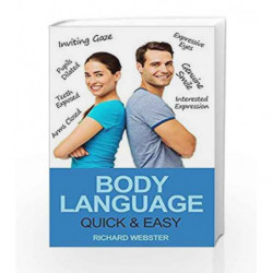 Body Language Quick and Easy by Richard Webster Book-9788183225229