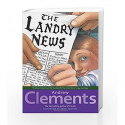 The Landry News by Andrew Clements Book-9780689828683
