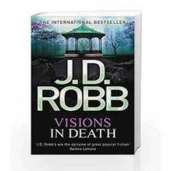 Visions In Death: 19 by J. D. Robb Book-9780749957391