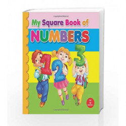 My Square Board Book: Numbers by NA Book-9789350891520
