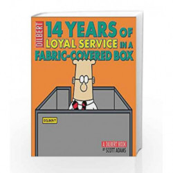 14 Years of Loyal Service in a Fabric-Covered Box (Dilbert) by Scott Adams Book-9780740773655