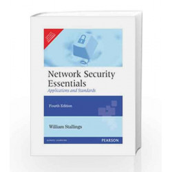 Network Security Essentials: Applications and Standards, 4/Ed by Stallings Book-9788131761755