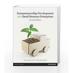 Entrepreneurship Development and Small Business Enterprises, 2e by Charantimath Book-9788131762264