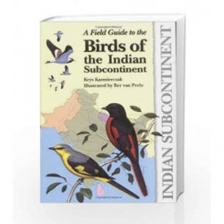 A Field Guide to the Birds of the Indian Subcontinent by Krys Kazmierczak Book-9781472915184
