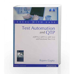 Excel with Ease: Test Automation and QTP by  Book-9788131764510
