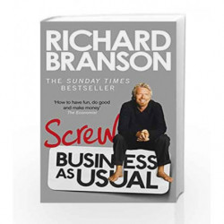 Screw Business as Usual by BRANSON RICHARD Book-9780753540596