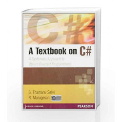 A TextBook on C# by Selvi Book-9788131764923