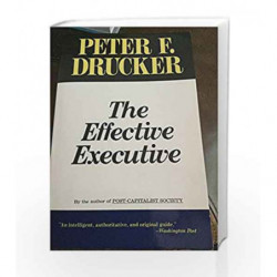 Effective Executive by Peter Drucker Book-9780062399878