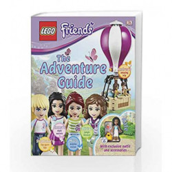 Lego: Friends - The Adventure Guide by NA Book-9780241196571