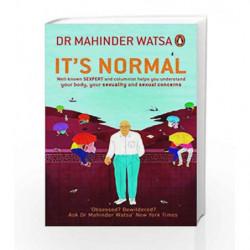 It's Normal by Dr Mahinder Watsa Book-9780143424888