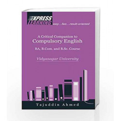 A Critical Companion to Compulsory Engli by Pearson Education Book-9788131771778