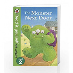 Read It Yourself with Ladybird Monster Next Door (Read It Yourself Level 2) by Ladybird Book-9780723295242