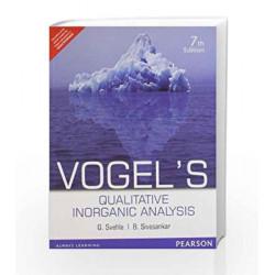Vogel's Qualitative Inorganic Analysis by Svehla / Sivasankar Book-9788131773710