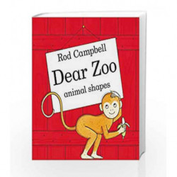 Dear Zoo Animal Shapes by Rod Campbell Book-9781447282785