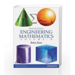 Engineering Mathematics - Vol II, 2e by Ram Book-9788131785034