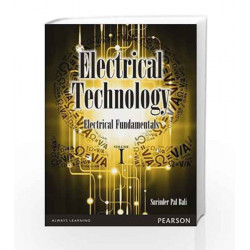 Electrical Technology, Vol1: Electrical Fundamentals, 1e by SP Bali Book-9788131785935