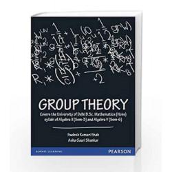 Group Theory by Sudesh Kumari Shah Book-9788131787632