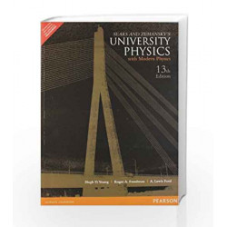 university physics with modern physics by Hugh D. Young 13th edition by Young Book-9788131790274