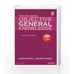 The Pearson Objective General Knowledge by Thorpe Showick Book-9788131790489
