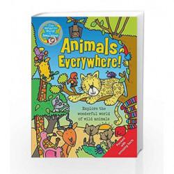 Animals Everywhere: The Wonderful World of Simon Abbott by Simon Abbott Book-9781783250783