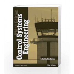 Control Systems Engineering, 3e by SK Bhattacharya Book-9788131791653