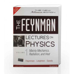 The Feynman Lectures on Physics: Mainly Mechanics, Radiation and Heat - Vol. 1 by Richard P. Feynman Book-9788131792117