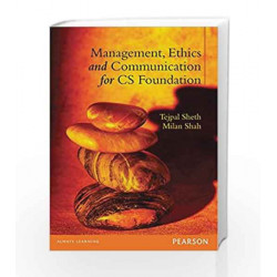 Management, Ethics and Communication for CS Foundation by Tejpal Sheth Book-9788131793824