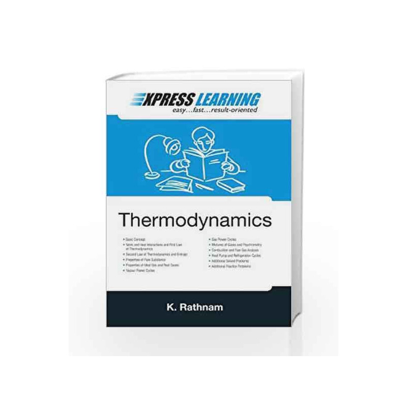 Thermodynamics: Express Learning Series by Rathnam K-Buy Online  Thermodynamics: Express Learning Series Book at Best Price in