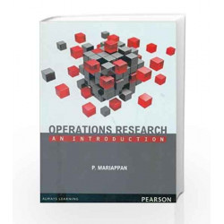 Operations Research by P. Mariappan Book-9788131799345