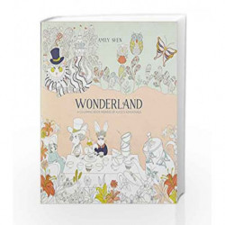 Wonderland: A Coloring Book Inspired by Alice's Adventures by SHEN, AMILY Book-9780399578465