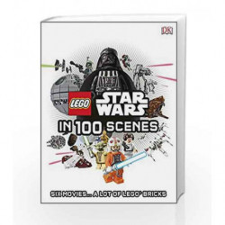 Lego: Star Wars in 100 Scenes by NA Book-9780241189429