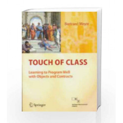 Touch Of Class: Learning To Program Well With Spr by Mever Book-9788132203742