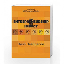 On Entrepreneurship and Impact by Desh Deshpande Book-9780986132629