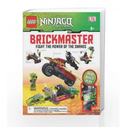 LEGO NINJAGO: Fight the Power of the Snakes Brickmaster by NA Book-9780756692551