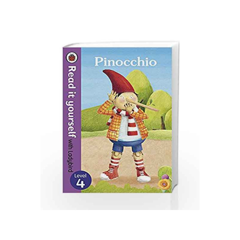 Read It Yourself with Ladybird Pinocchio (Read It Yourself Level 4) by Ladybird Book-9780723280729