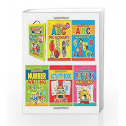 Fun to Learn- A Pack of 5 Books (With Marker Pen) by Dreamland Publications Book-9789350898635