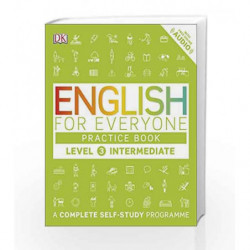 English for Everyone Practice Book - Level 3 Intermediate by DK Book-9780241243527