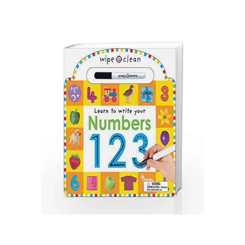 Wipe Clean: Numbers (Wipe Clean Learning Books) by Roger Priddy-Buy Online  Wipe Clean: Numbers (Wipe Clean Learning Books) 1 edition (1 March 2004)