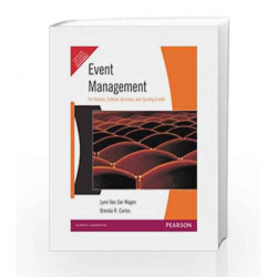 Event Management, 1e by WAGEN Book-9788177580655