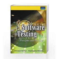 Software Testing: Principles and Practices by Srinivasan Desikan Book-9788177581218