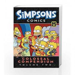 Simpsons Comics Colossal Compendium - Vol. 2 by Matt Groening Book-9780062336095