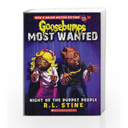 Goosebumps Most Wanted #8: Night of the Puppet People by R.L. Stine Book-9789351034124