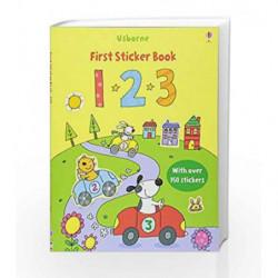 123 Sticker Book (Usborne Sticker Books) by Stacey Lamb Book-9780746097861