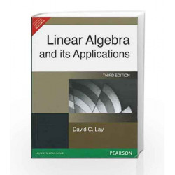 Linear Algebra and Its Applications, 3e by LAY Book-9788177583335