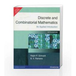 Discrete and Combinatorial Mathematics by  Book-9788177584240
