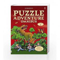 Puzzle Adventure Omnibus Volume 1 (Usborne Puzzle Adventures) by Jenny Tyler Book-9780746087336
