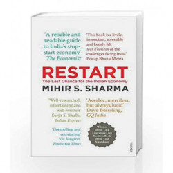 Restart: The Last Chance for the Indian Economy by Mihir Sharma Book-9788184007725